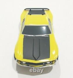 #026 Rare Lost tooling Mustang AFX Mega-G 1.7 Long Chassis HO slot car. New