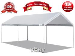10' X 20' Portable Heavy Duty Canopy Garage Tent Carport Car Shelter Steel Frame