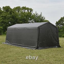 10'x20'x8' FT Carport Canopy Car Storage Shed Garage Steel Frame Tent Shelter