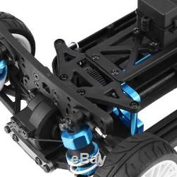 110 4WD Alloy Plastic Shaft Drive Car Body Frame Kit for ZD RC Racing Drift Car