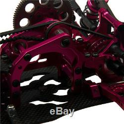 110 RC Drift Frame Car Kit EP On Road KIT 4WD For 3Racing Sakura D4 AWD