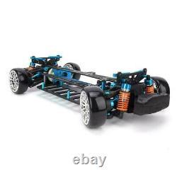 110 Scale Aluminum Alloy Frame Carbon Fiber Chassis for Tamiya TT01 / TT01E Car
