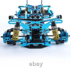 110 Scale G4 Alloy&Carbon Racing Car Frame Kit For HSP HPI RC 4WD On Road Drift