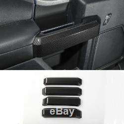 14Carbon Fiber Car Decoration Cover Trim Frame For Ford F150 2015 2016 2017