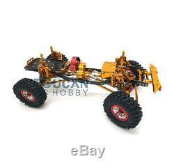 1/10 AXIAL SCX10 D90 Rock Crawler CNC RC Car Aluminium Alloy Frame Chassis