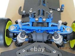 1/10 Alloy & Carbon TT01 TT01E Shaft Drive 4WD Racing Car Chassis Frame Kit
