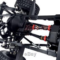 1/10 FULL METAL RC ROCK CRAWLER CAR Defender D110 Chassis RC4WD