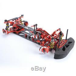 1/10 G4 RC Racing Car Alloy Carbon Fiber Car Frame Kit 078055R 4WD HSP HPI Drift