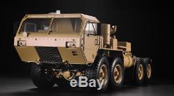 1/12 88 RC US Military Truck Model Metal Chassis Car Motor ESC Servo P802 Radio