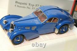 1/18 CMC Bugatti Typ 57 Sc Atlantic Coupe Chassis-nr 57.591 (r. B. Pope) 1938 New