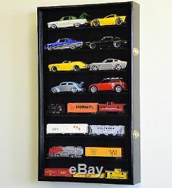 1/24 Scale Diecast Model Car Display Case Rack Holder Holds 16 Die Cast Nascar