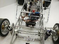 1/4 Quarter Scale Sprint Car New Build Zenoah G230rc Motor Predator Chassis Etc