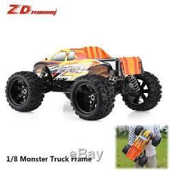 1/8 ZD Racing Rock Crawler Monster Truck Frame VS Hobao Redcat DF TRX4 RC Car