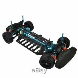 1 Set 1/10 4WD Touring Car Frame Part Kit for M9H5 Alloy and Carbon Shaft Drive
