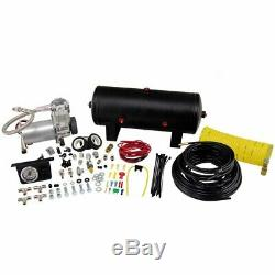 25690 Air Lift Kit Suspension Compressor New for Chevy Suburban