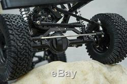 280mm 110 RC Model Crawler Xtra Speed D90 Car Body Chassis Frame Kit & Wheels