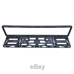 2x Carbon Number Plate Surrounds Holder Frame New For Cars