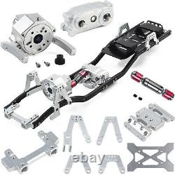 313mm Radstand Rahmen Chassis für 110 RC Auto Axial SCX10 II 90046 Crawler Car
