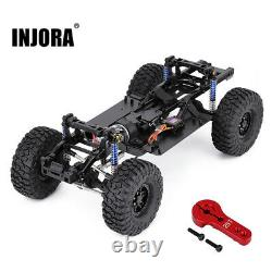 313mm WB 2-Speed Transmission Chassis Frame & Motor for 1/10 RC Car Traxxas TRX4