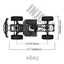 313mm WB RC Crawler Car Frame Chassis with wheel for 1/10 Axial SCX10 II 90046