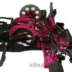 3 RACING 1/10 Alloy& Carbon SAKURA D4 RWD Drift Racing Car Frame Body Kit D4RWD
