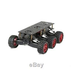 6WD Search & Rescue Smart Car Chassis Shock Off-road Climb for Raspberry Pi car