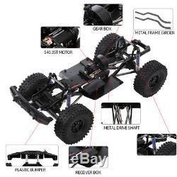 AUSTAR 313mm Wheelbase Chassis Frame Trie For 1/10 AXIAL RC Crawler Car DIY U8Z0