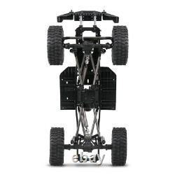 AUSTAR 313mm Wheelbase Chassis Frame + Tries for 1/10 AXIAL SCX10 II RC Car X9W2