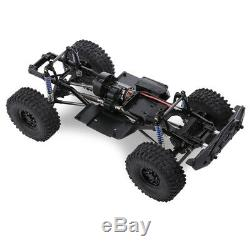 AUSTAR 313mm Wheelbase Chassis Frame With Tries For 1/10 AXIAL SCX10 RC Car
