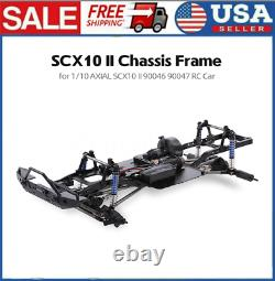 AUSTAR 313mm Wheelbase Chassis Frame without Tires for 1/10 Axial RC Crawler Car