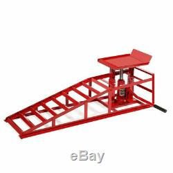 A Pair Lift Repair Frame Auto Car Service Ramps Lifts Heavy Duty Hydraulic US