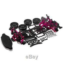 Alloy & Carbon 110 2WD Version RC Drift Car Frame Kit For Racing Sakura D4 RWD