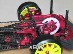 Alloy & Carbon 1/10 4WD Drift Racing Car SAKURA D3 Frame Body Assembled