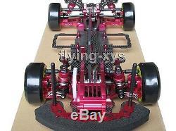 Alloy&Carbon 1/10 SAKURA D3 Drift Racing Frame& SKYRC LEOPARD ESC Motor Combo RC
