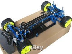 Alloy Carbon Fiber Frame Kit G4 For 110 TT01 / TT-01 RC 4WD on Road Racing Car
