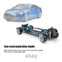 Alloy Carbon Fiber Frame Kit G4 For 110 TT01/TT-01 RC 4×4 on Road Racing CarFS