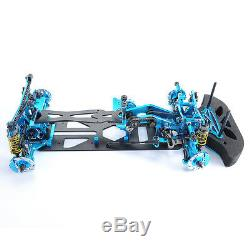 Alloy&Carbon Frame Kit G4 Chassis F 110 HSP HPI RC 4WD on Road Racing Car Body