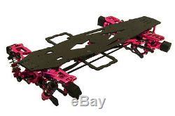Alloy & Carbon RC 1/10 4WD Drift Racing Car Frame Body Kit for SAKURA D3 CS 3R