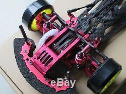 Alloy & Carbon SAKURA D3 110 CS 3R OP RC 1/10 4WD Drift Racing Car Frame Kit