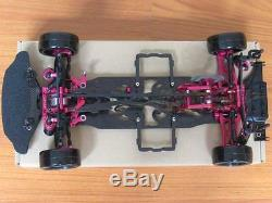 Alloy & Carbon SAKURA D4 AWD EP 1/10 Drift Racing Car Frame Body #KIT-D4AWD 110