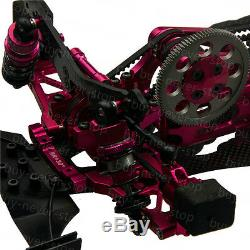 Alloy & Carbon Sakura D4 110 AWD 4WD OP EP RC Car Frame Kit with 4 Wheels