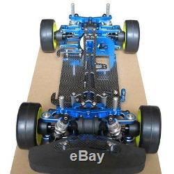 Alloy & Carbon TT01 TT01E Shaft Drive 1/10 4WD Racing Car RC Chassis Frame Kit