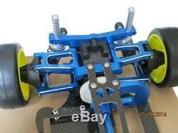 Alloy & Carbon TT01 TT01E Shaft Drive 1/10 4WD Touring Car Frame Kit