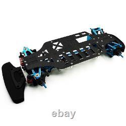 Alloy & Metal Shaft Drive 1/10 RC 4WD Touring Car Frame Kit for TT01 TT01E New