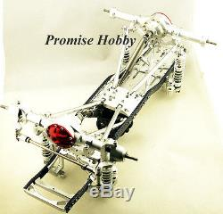 Alloy metal chassis kit for 110 1/10 Axial SCX10 rc crawlers cars