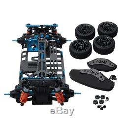 Aluminium Alloy and Carbon Shaft Drive 1/10 4WD Touring Car Frame Kit for TN4I2
