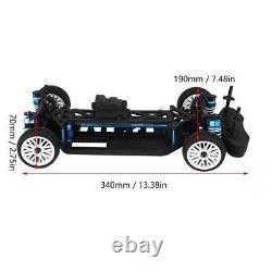Aluminium&Carbon frame 110 4WD Front Motor RC Drift Car Kit for ZD RC Drift Car