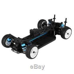 Aluminium&Carbon frame 110 4×4 Front Motor RC Drift Car Kit for ZD RC Car Parts