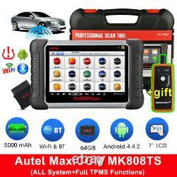 Autel MaxiCOM MK808TS Bluetooth OBD2 Scanner Car TPMS Diagnostic Tool Key Coding