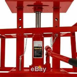 Best! 2pcs Car Lift Repair Frame Service Ramps Heavy Duty Auto Hydraulic Lifts